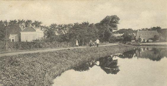 De Oosterkade in Grijpskerk, vanaf Gaarkeuken gezien
