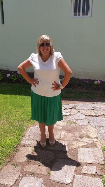 Mary's Big Closet: Midi Skirt