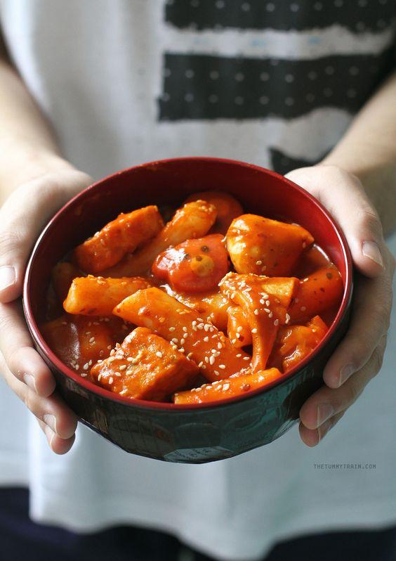 Bánh gạo cay - Tteokbokki