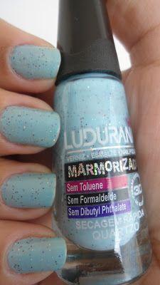 Coisas da vida: BC:: Esmalte + gentileza com Quartzo, azul lindo da Ludurana