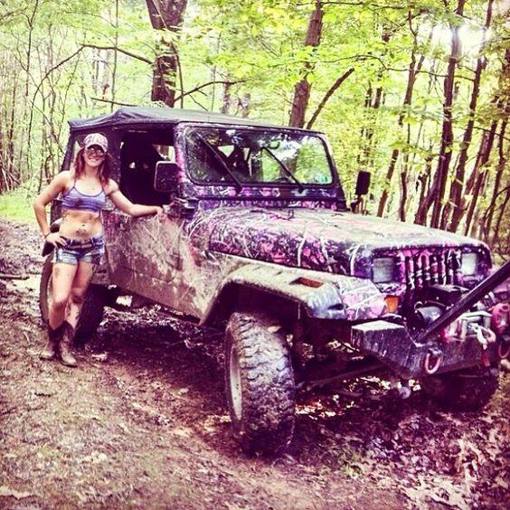 @Mac5862 #jeepher getting dirty #jeep #Padgram
