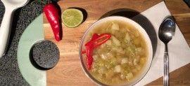 Soup leek and pot #nvw16