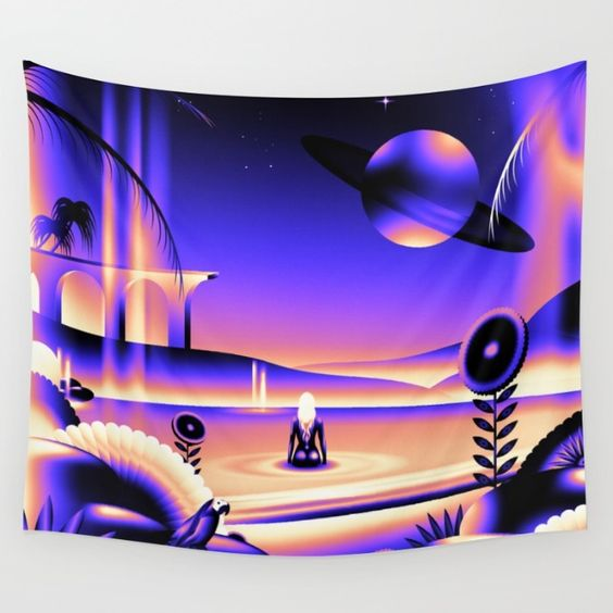 Oasis Wall Tapestry