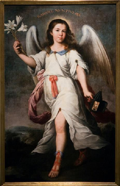 ALONSO MIGUEL DE TOVAR  ARCANGEL SAN RAFAEL 1730: