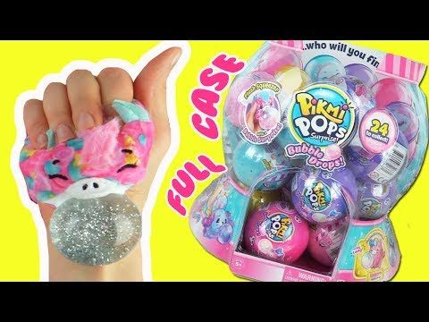Pikmi Pops Surprise Bubble Drops Full Case Plushies Opening Toy Caboodle Youtube My Little Pony Coloring Girl Birthday Party Gifts Fun Crafts For Kids