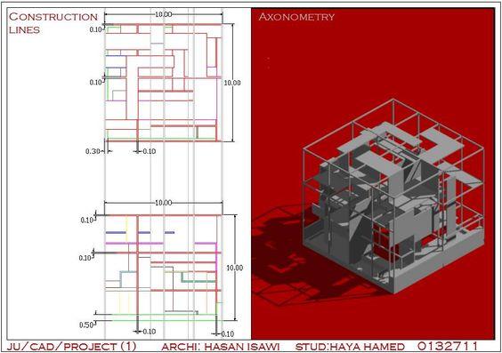 Haya Sallamالرسم المعماري بالحاسوب/ computer architectural drawing: