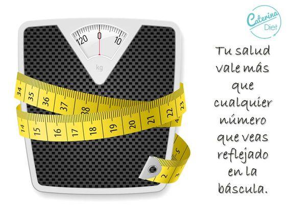 Tu salud vale más que cualquier número que veas reflejado en la báscula.
