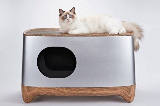 Auto Pack Self Cleaning Litter Box In 2020 With Images Cleaning Litter Box Self Cleaning Litter Box Litter Box Furniture