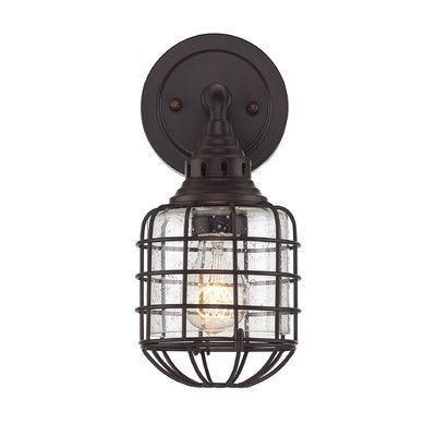 Savoy House Connell 1 Light Wall Sconce Finish: