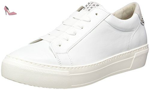 Gabor Shoes Fashion - Sneakers Basses - Sneakers Basses - Femme - Blanc (Weiss 41) - 41 EU (UK 7.5) RY6OIIo