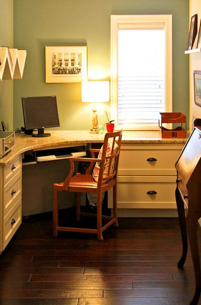 A well home office design and offices on pinterest for Well designed office spaces