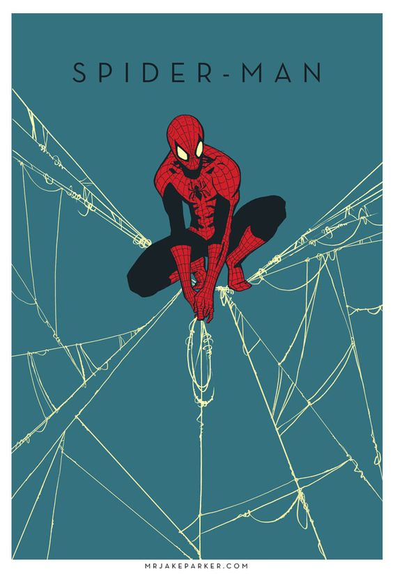 Spider-Man by Jake Parker