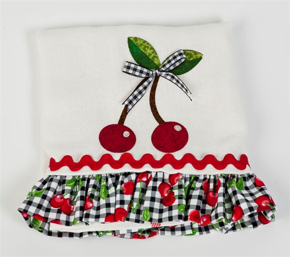 Project Center - Cherry Dishtowel