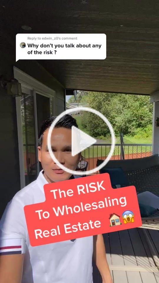 King Khang Khang Wtm On Tiktok Reply To Edwin Z0 Thats Why I Choose Wholesaling Wholesalingrealestate Realestate Real Estate Tips Investing Real Estate