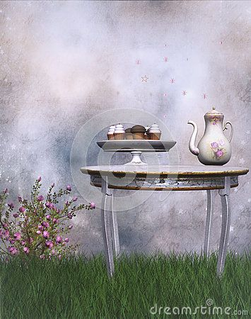 Fantasy Tea Party - Download From Over 25 Million High Quality Stock Photos, Images, Vectors. Sign up for FREE today. Image: 43522227