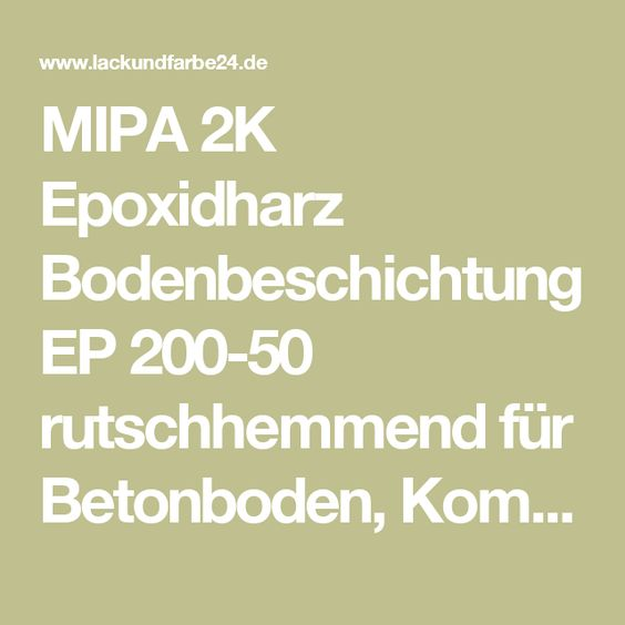 Wundervoll Best 25+ Epoxidharz bodenbeschichtung ideas only on Pinterest  LC17