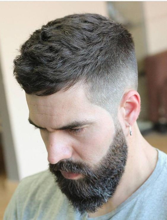 Caesar Haircut For Men Mens Haircuts Fade Mens Hairstyles Fade Beard Hairstyle