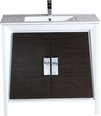 Langley Street Vanesa 35 Single Bathroom Vanity Set Single Bathroom Vanity Bathroom Vanity Base Vanity