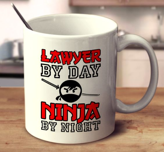 Lawyer By Day Ninja By Night
