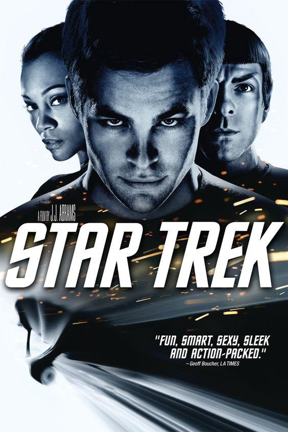 Chris Pine Star Trek Poster