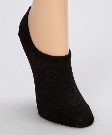 Another great find on #zulily! Black Perfect No-Show Sock Set #zulilyfinds