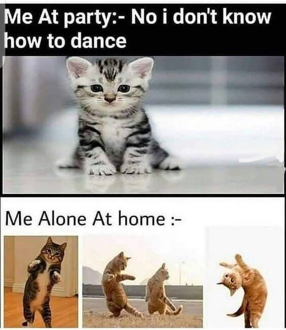 I don't know how to dance