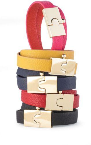 Reversible wrap bracelets in fun colors!