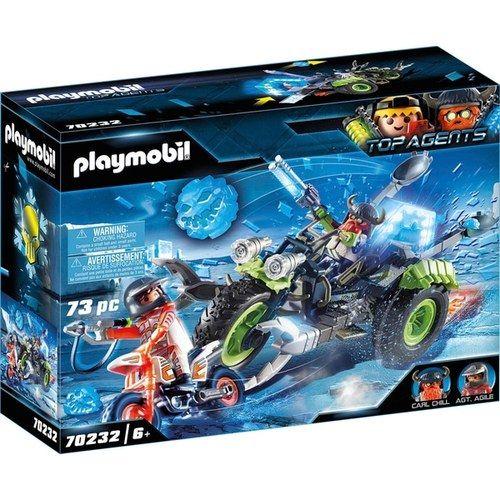ausmalbilder playmobil top agents  best trend design
