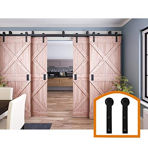 Zekoo 11 Ft 4 Doors Bypass Sliding Barn Door Hardware Low Https Www Amazon Com Dp B07ht4t1sg Bypass Barn Door Bypass Barn Door Hardware Barn Door Hardware