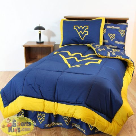 College Covers West Virginia Mountaineers Bed-in-a-Bag - Team Color