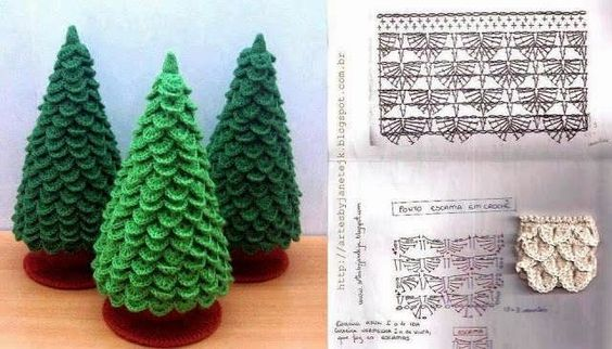 ARBOL DE NAVIDAD A CROCHET:         Hola!!, hoy empiezo a preparar para la navidad y lo he hecho con éste bonito árbol. Me he guiado de un ...