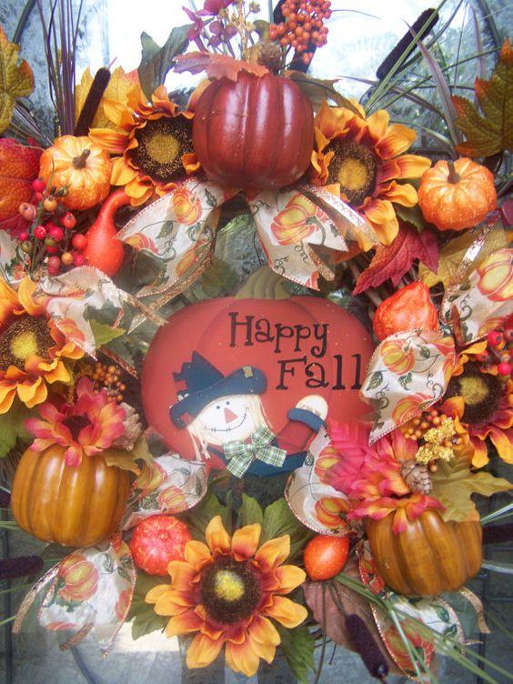 Cute Fall Wreath