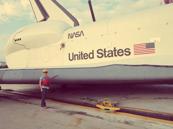 Beyond The Stoop: i touched a space shuttle  NYC, Jersey City Blog, Enterprise Space Shuttle