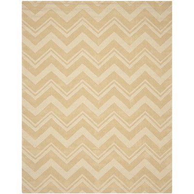Mercury Row Brantley Beige Area Rug Rug Size: