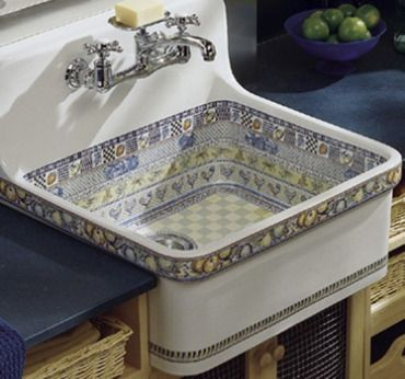 Would also make a great laundry tub. A Kohler item.