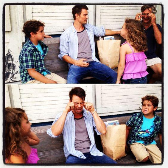 Safe Haven stars Josh Duhamel, Mimi Kirkland and Noah ...