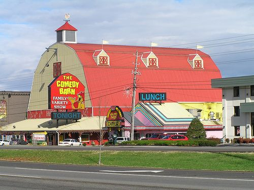The Comedy Barn  Gatlinburg, Tennessee
