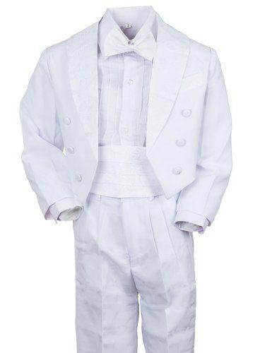 Festlicher Jungen Smoking Anzug 5 tlg. mit Weste oder Kummerbund in 3 Farben: Amazon.de: Bekleidung