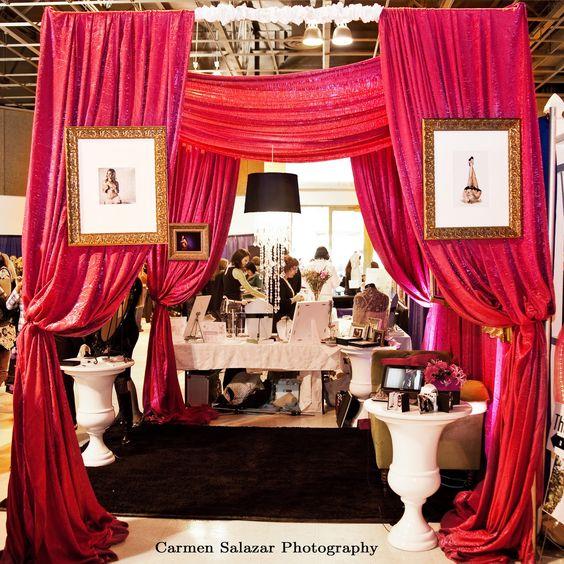 Wedding Fair Ideas: Studio B Event Designs: Designer Bridal Show Booths