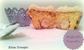 ♥ Die kleine Fee der Torten: Oh, ein Raffaello im Cupcake... und da ein Mon Che...
