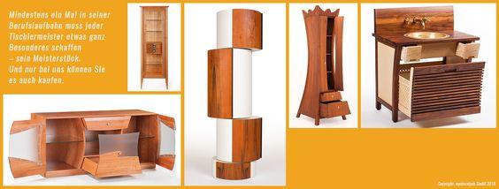 mysterstyck hat es sich zur Aufgabe gemacht, Meisterstücke des Tischlerhandwerks zurück in das Licht der Öffentlichkeit zu bringen  und – als Nachbauten – für interessierte Käufer zugänglich zu machen. Einzigartige Möbelstücke – individuell, originell und handgefertigt!