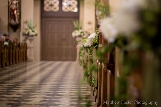 Photo by Matthew Foster  Designed by Dunn and Sonnier Aisle Markers