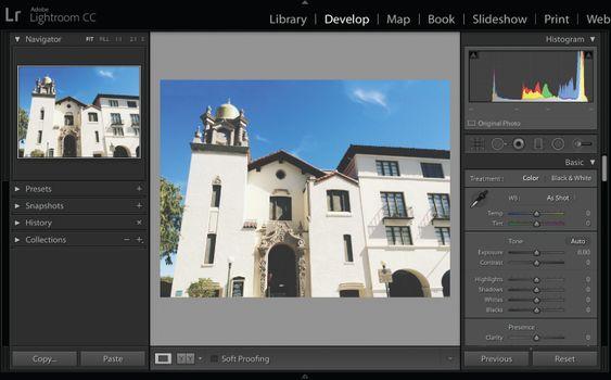 Alter a photo's perspective   Adobe Photoshop Lightroom CC tutorials