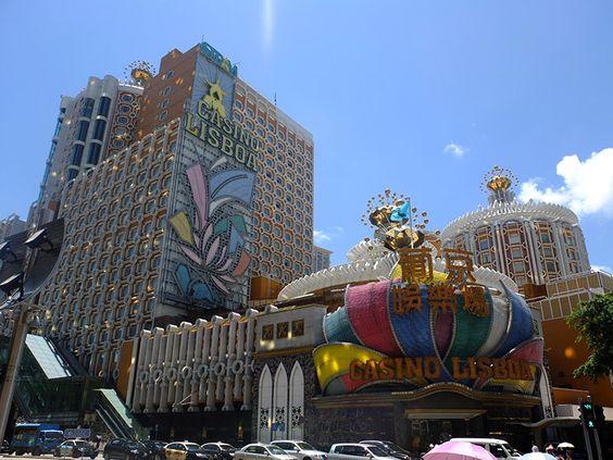 Das Lisboa Casino, eines der ältesten Kasinos von Macau