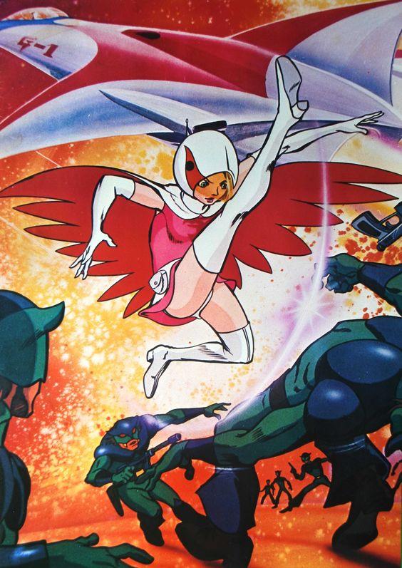 華麗な蹴りを見せる白鳥のジュンのかっこいい画像。