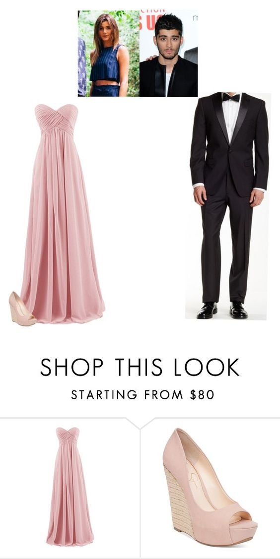 """""""Dinner party// Eleanor and Zayn"""" by rossetti-family-anon ❤ liked on Polyvore featuring Jessica Simpson and U.S. Polo Assn."""