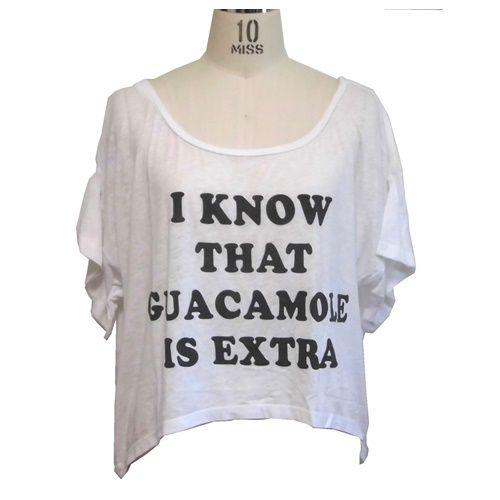 Local Celebrity ローカルセレブリティ アメリカ の トップス I Know That guacamole カットソー レディース 半袖 Tシャツ アメカジ 文字 英語 英文字 S M サイズ 各種 カジュアル かわいい tしゃつ 白 てーしゃつ テーシャツ ティシャツ 女 ブランド 海外