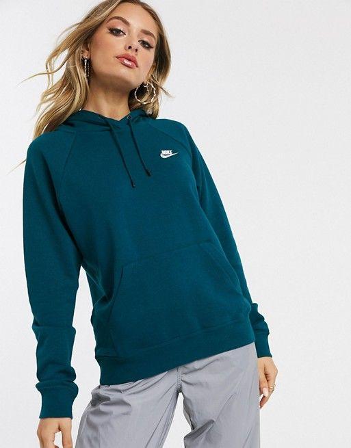 Evaporar Subdividir arrebatar  Nike dark blue essentials hoodie   ASOS   Nike women sweatshirt, Nike  outfits, Hoodies