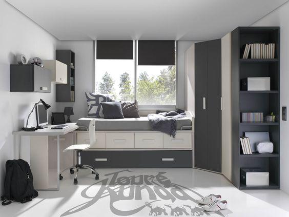 Decoracion de dormitorios juveniles varones 1 - Ideas dormitorios juveniles ...