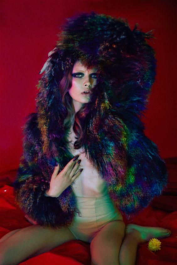 ''Psychedelic Furs'. Georgiana Saraev By Jamie Nelson